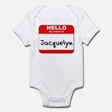 Hello my name is Jacquelyn Onesie