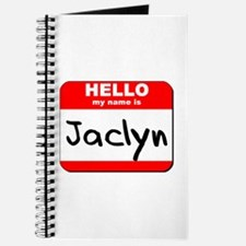 Hello my name is Jaclyn Journal