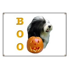 Bearded Collie Boo Banner