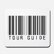 Tour Guide Bar Code Mousepad