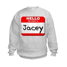 Hello my name is Jacey Jumpers