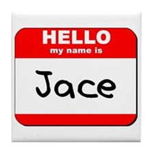 Hello my name is Jace Tile Coaster