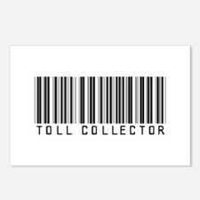 Toll Collector Barcode Postcards (Package of 8)