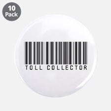"Toll Collector Barcode 3.5"" Button (10 pack)"
