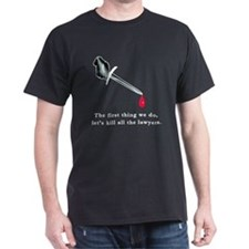 Shakespeare Lets Kill all the Lawyers T-Shirt