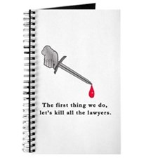 Shakespeare Lets Kill all the Lawyers Journal