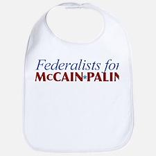 Federalists for McCain Palin Bib