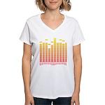 Equalizer Women's V-Neck T-Shirt