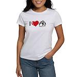 I Love Penguins Women's T-Shirt