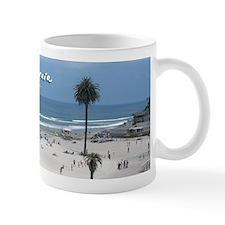 Moonlight Beach on Summer Day Mug
