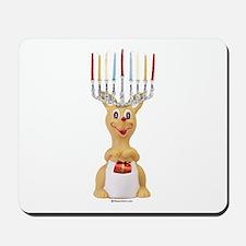 Hanukkah Rudolph ~  Mousepad