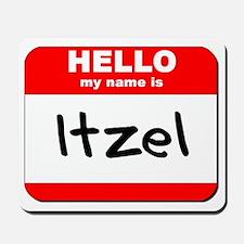 Hello my name is Itzel Mousepad