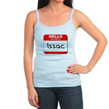 Hello my name is Issac Tank Top