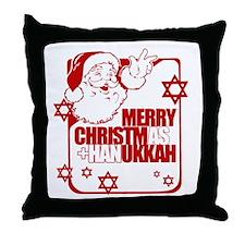 Merry Christmas and Hanukkah ~ Throw Pillow