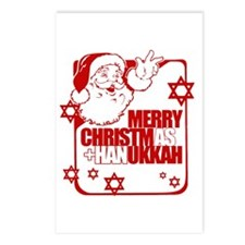 Merry Christmas and Hanukkah ~ Postcards (Package