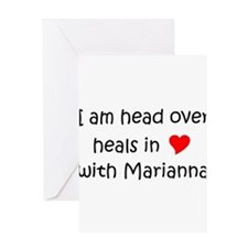 Unique Marianna Greeting Card