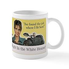 Sarah Palin in the White House Mug