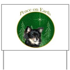 Chihuahua Peace Yard Sign