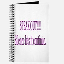 """Speak Out"" Journal"