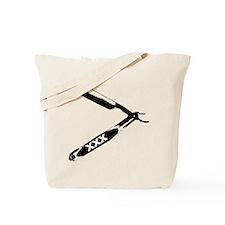 Funny Straight edge Tote Bag