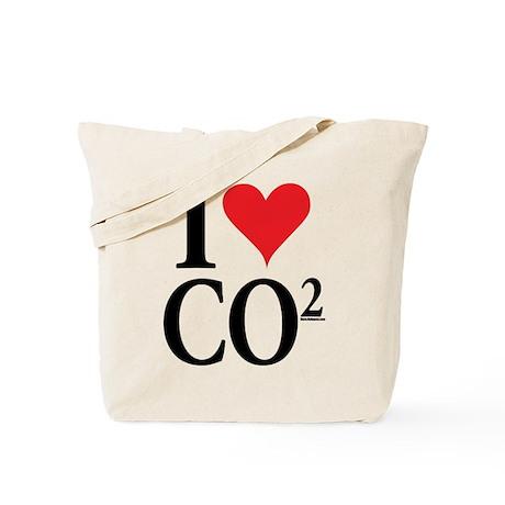 I Love co2 Tote Bag