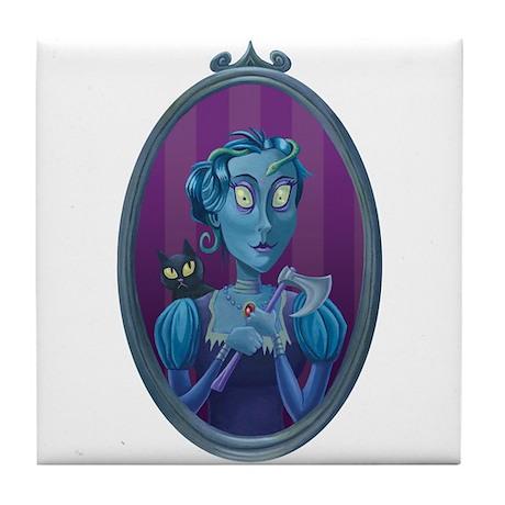 Lizzie Borden Tile Coaster