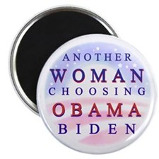 "Another Woman for Obama 2.25"" Magnet (10 pack"
