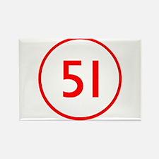 Emergency 51 Rectangle Magnet