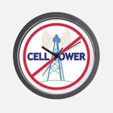 No Cell Tower Wall Clock