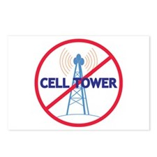 No Cell Tower Postcards (Package of 8)