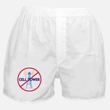 No Cell Tower Boxer Shorts