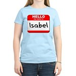 Hello my name is Isabel Women's Light T-Shirt