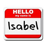 Hello my name is Isabel Mousepad