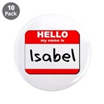 Hello my name is Isabel 3.5