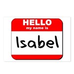 Hello my name is Isabel Postcards (Package of 8)