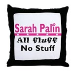 Palin Fluff Throw Pillow