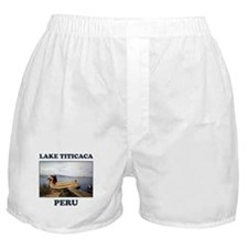 Lake Titicaca Boxer Shorts