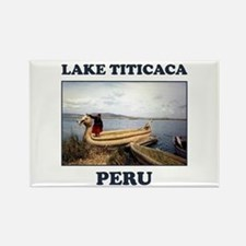 Lake Titicaca Rectangle Magnet