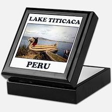 Lake Titicaca Keepsake Box