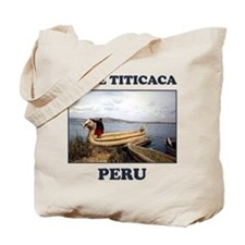 Lake Titicaca Tote Bag