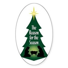 Reason for the Season Oval Decal