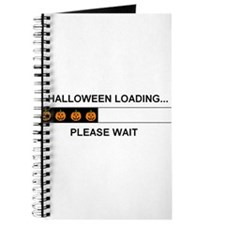 HALLOWEEN LOADING...PLEASE WAIT Journal