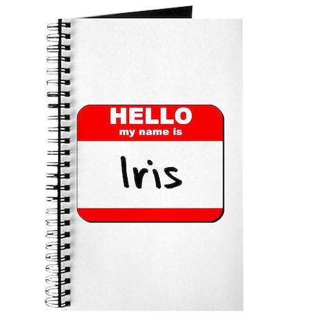 Hello my name is Iris Journal