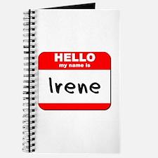 Hello my name is Irene Journal