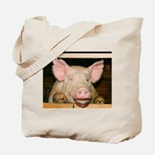 Lipstick on a Pig 2 Tote Bag