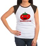 Jesus Hates Tomatoes Women's Cap Sleeve T-Shir