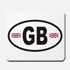 GB Great Britain Euro Style Mousepad