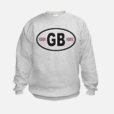 GB Great Britain Euro Style Sweatshirt