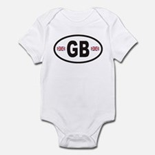 GB Great Britain Euro Style Infant Bodysuit