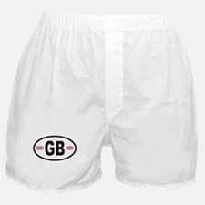 GB Great Britain Euro Style Boxer Shorts